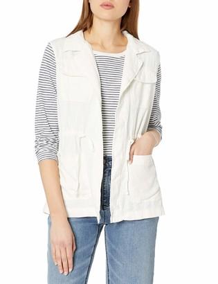 UNIONBAY Women's Kimmy Linen Rayon Long Vest