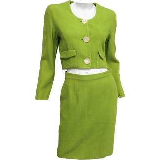 Green Cotton Non Signé / Unsigned Non Signe / Unsigned Dresses