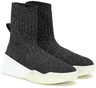 Stella McCartney Loop stretch-knit sneakers