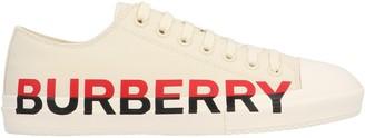 Burberry Tri-Colour Logo Sneakers