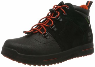 Timberland Unisex Kids' City Stomper Mid Waterproof (Youth) Classic Boots