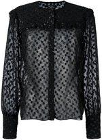 Isabel Marant 'Airy' semi-sheer blouse