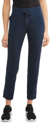 Athletic Works Women's Athleisure Knit Pant Available in Regular and Petite