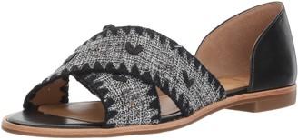 Jack Rogers Women's Lindsey Textile Flat Sandal