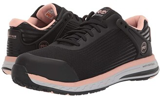 Timberland Drivetrain Composite Safety Toe (Black/Pink) Women's Boots