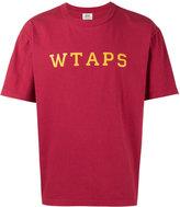 Wtaps - Red college font t shirt - men - Cotton - S