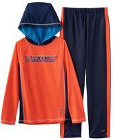 Asics Boys 4-7 Mesh Hoodie & Pants Set