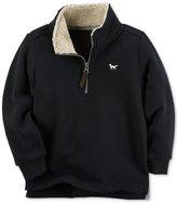 Carter's Fleece-Lined Mock Neck Sweater, Toddler Boys (2T-5T)