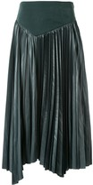 Muller of Yoshio Kubo Muller Of Yoshiokubo asymmetric pleated skirt
