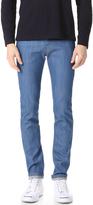 Naked & Famous Denim Super Skinny Guy Rich Blue Stretch Jeans