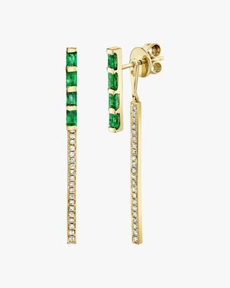 Shay Jewelry Two-Stone Stick Ear Jackets