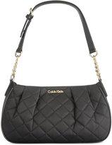 Calvin Klein Quilted Nylon Demi Bag