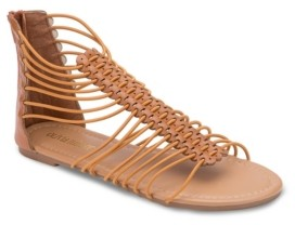 OLIVIA MILLER Oviedo Gladiator Sandals Women's Shoes