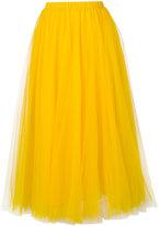 Rochas full chiffon midi skirt - women - Polyamide - 44