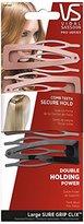 Vidal Sassoon Clix Contour Comb Clips, Large, 4 Count (Assorted Colors)