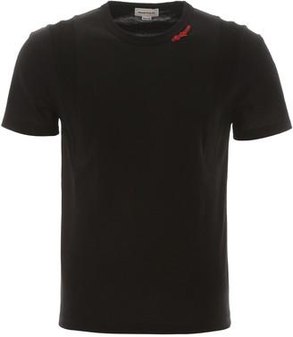 Alexander McQueen Logo Patch T-Shirt