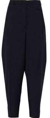 Jil Sander Wool And Mohair-blend Tapered Pants