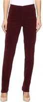 FDJ French Dressing Jeans Plush Cord - Pull-On Super Jegging in Cabernet