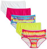 Fruit of the Loom Girls 6-16 5-pk. Breathable Hipster Panties