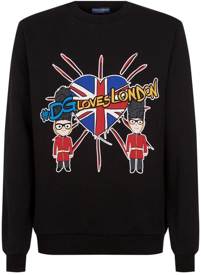 Dolce & Gabbana DGLOVESLONDON Sweater