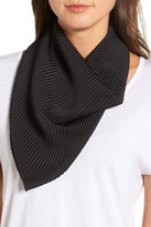 Halogen Solid Pleated Scarf
