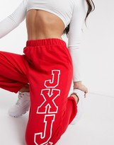 Juicy Couture JXJC Joggers in true red