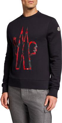 Moncler Men's Logo Graphic Sweatshirt