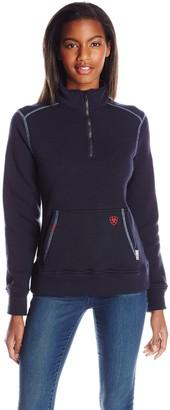 Ariat Women's Flame Resistant Polartec 1/4 Zip Fleece