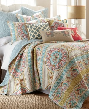 Levtex Tangier Medallion Print Reversible Full/Queen Quilt Set