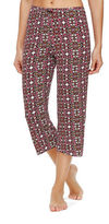 Ellen Tracy Printed Cropped Pants