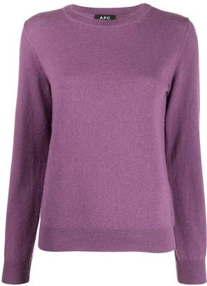 A.P.C. Nola crew neck cashmere jumper