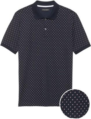 Banana Republic Slim Luxury-Touch Polo Shirt