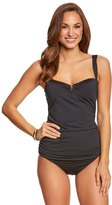 Tommy Bahama Pearl Solids Side Shirred Long Tankini Top 8153403