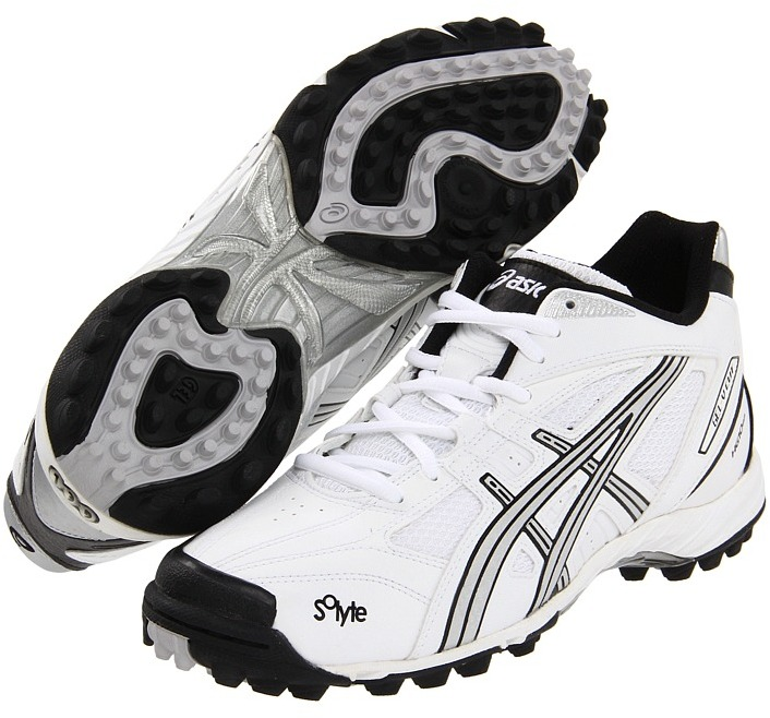 Asics Gel-V Cut MT Turf (White/Silver/Black) - Footwear