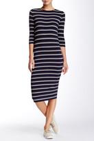 Blu Pepper Striped Knit Dress