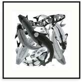 Arlette Ess Koi II Art Print Mono Negative
