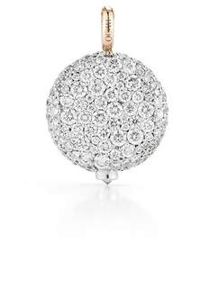 Chantecaille Walters Faith Large 18K White Diamond Pebble