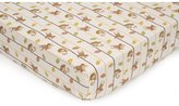 Kids Line Rainforest Monkey Fitted Crib Sheets