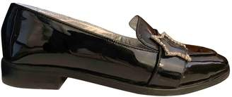 ALEXACHUNG Alexa Chung Black Patent leather Flats