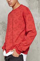 Forever 21 FOREVER 21+ Mickey Glove Print Sweatshirt