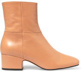 Joseph Leather Ankle Boots - Tan