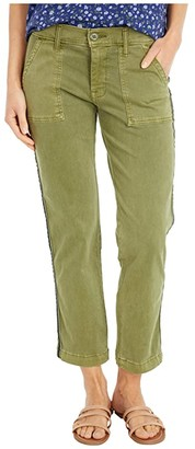 Lucky Brand Boyfriend Utility Pants (Loden Green) Women's Casual Pants