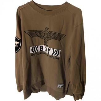 Boy London Brown Cotton Knitwear for Women
