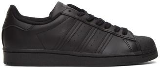 adidas Black Superstar Sneakers
