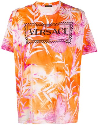 Versace jungle print T-shirt