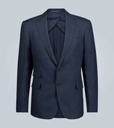 Ralph Lauren Purple Label Single-breasted linen blazer