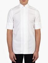 Paul Smith White Short-Sleeved Cotton Shirt