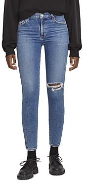AGOLDE Toni Mid Rise Skinny Jeans in Shoreline