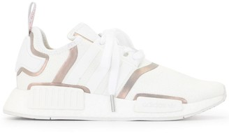 adidas Metallic Tape Lace Up Trainers