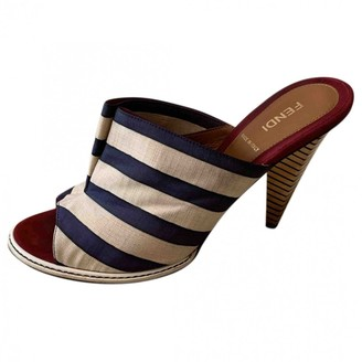 Fendi Multicolour Cloth Sandals